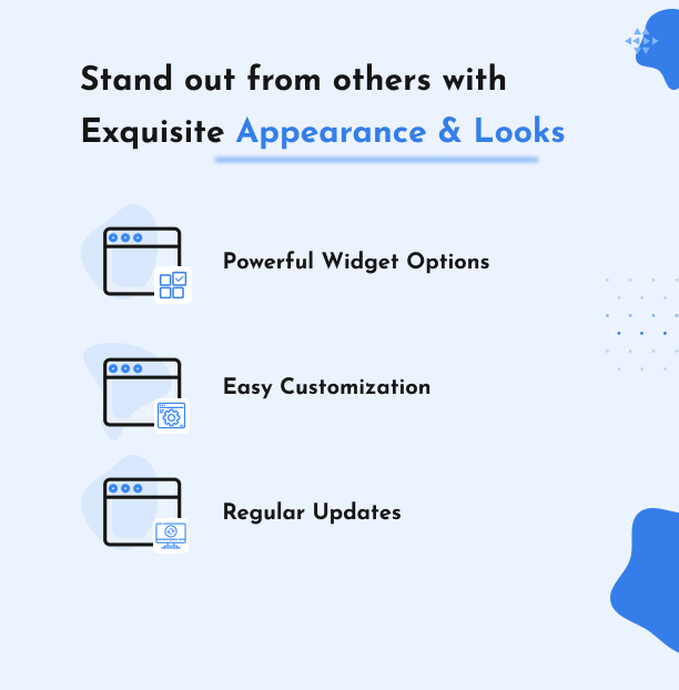 Exquisite Appearance and Looks - Affiliate Elements for Elementor