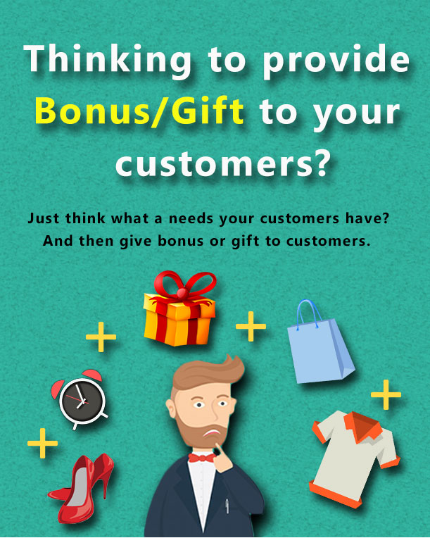 Thinking to provide Bonus/Gift to your customers - Bonus Product for WooCommerce
