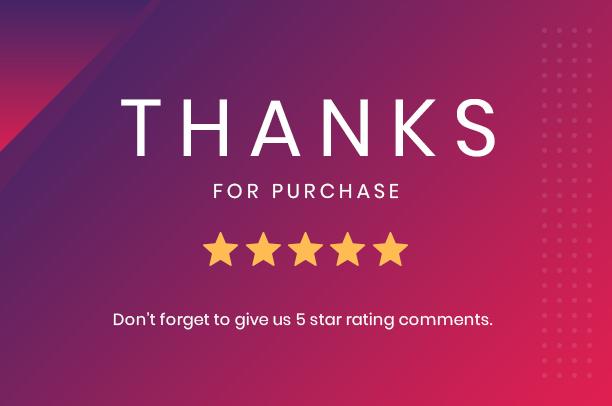 Merci pour l'achat-carte Elements Pro pour Elementor
