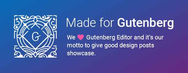 Made for Gutenberg - Post Layouts Pro for Gutenberg