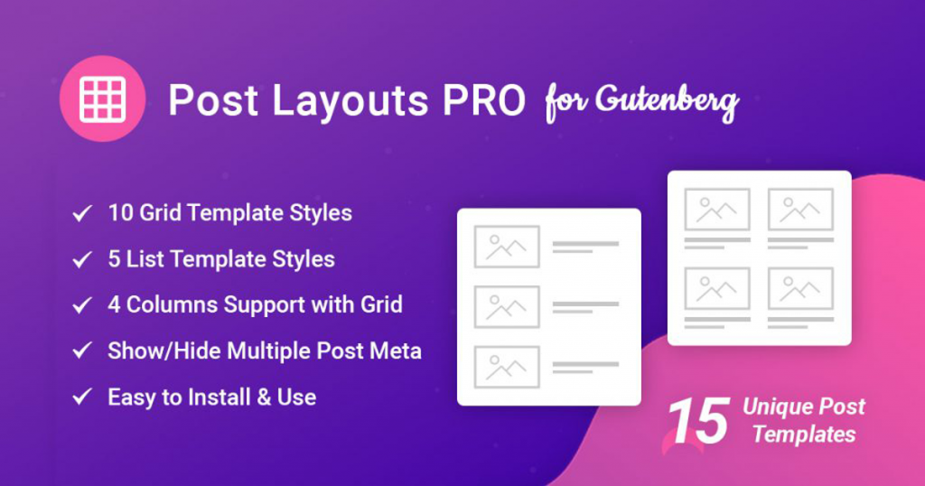 post-layouts-pro-for-gutenberg