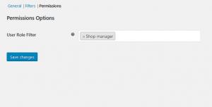 Permissions Settings - Bonus Product for WooCommerce