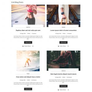 Grid Style - Post Layouts