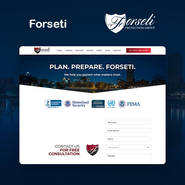 Forseti Protection Portfolio Page