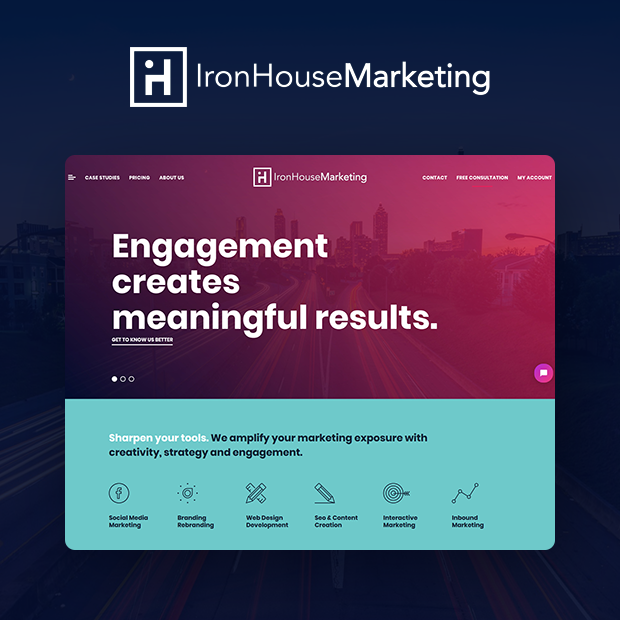 IronHouse Marketing Portfolio Page