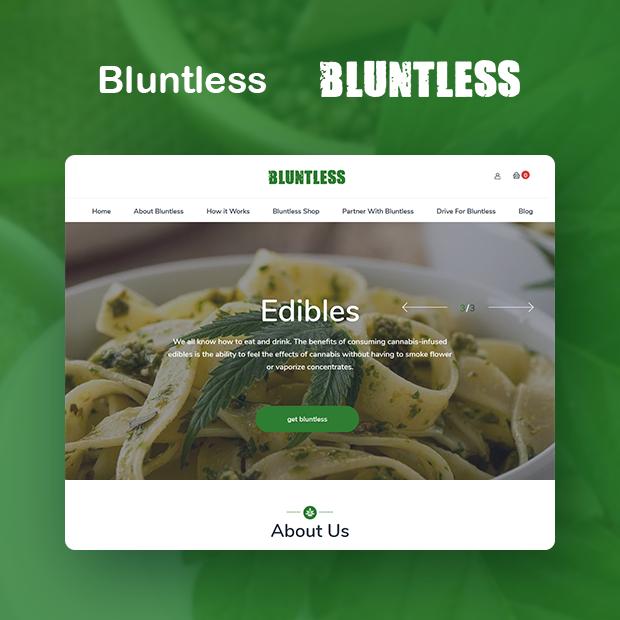 Getbluntless Portfolio Page