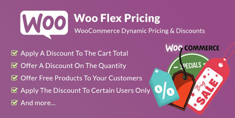 Woo Flex Pricing