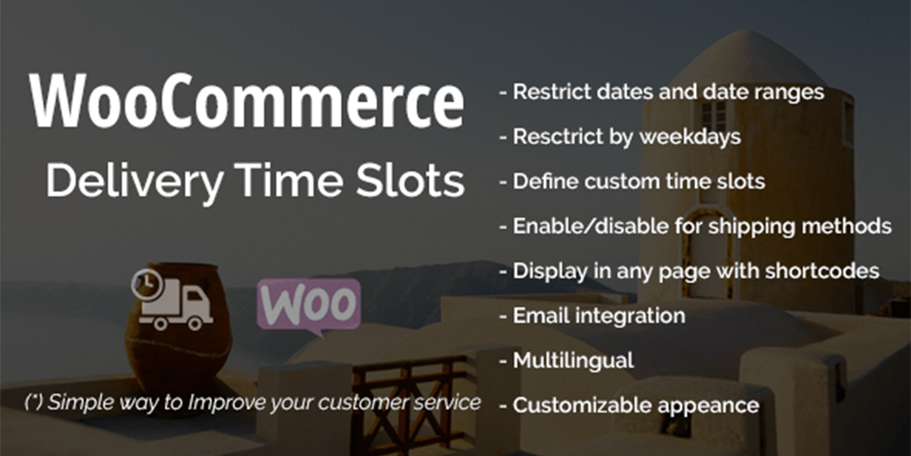 WooCommerce Delivery Time Slots
