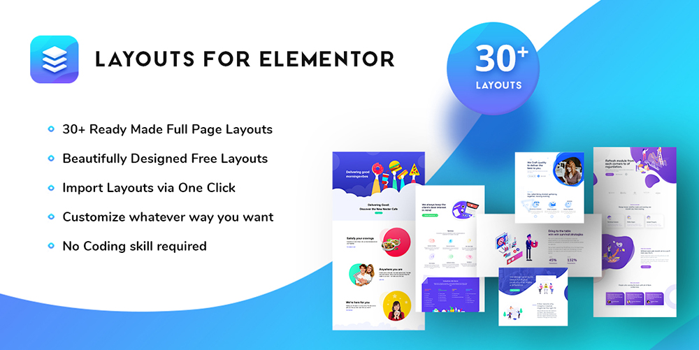 Layouts For Elementor