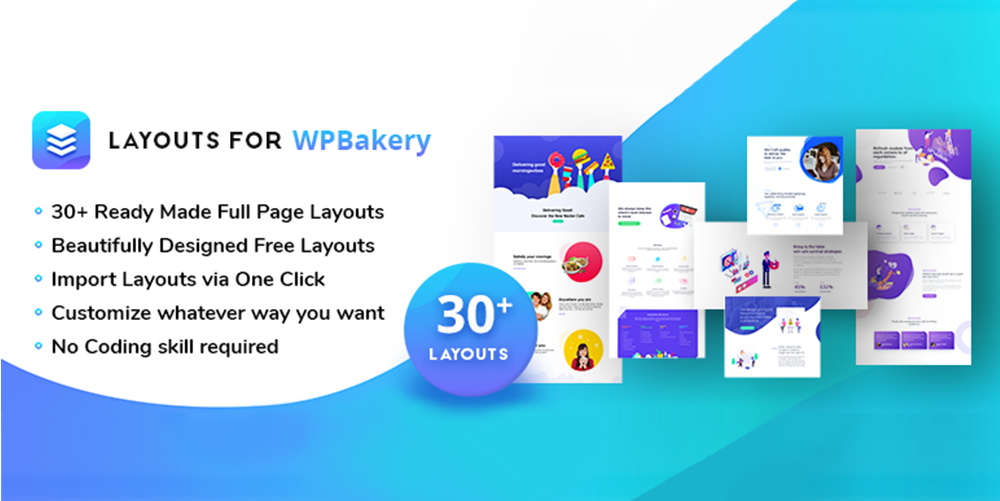 Layouts For WPBakery