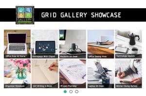 Gallery Showcase Grid Layout