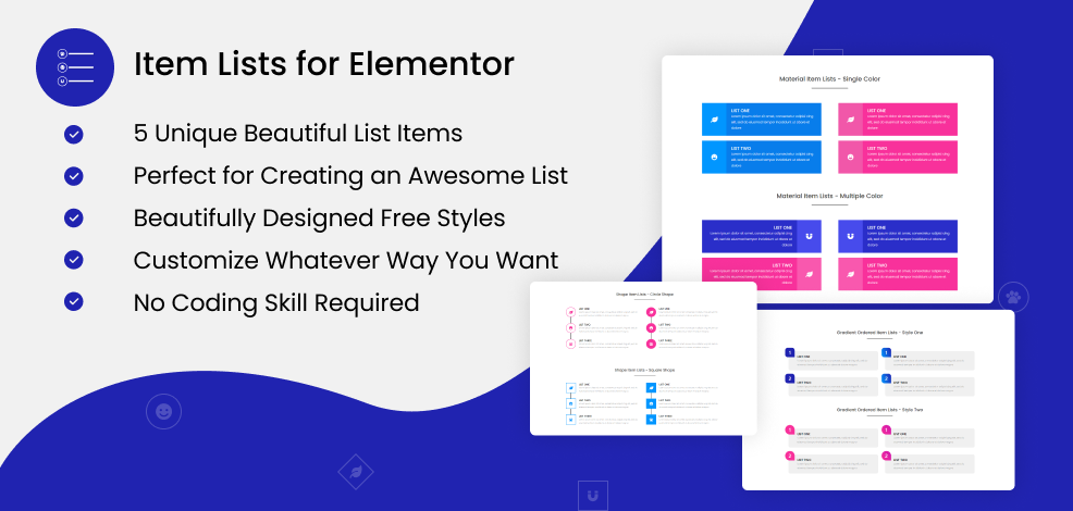 item-lists-for-elementor-product-banner
