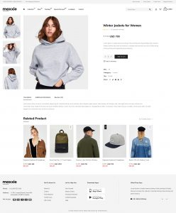 Product Detail Page Template