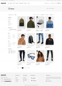 Product Grid Page Template