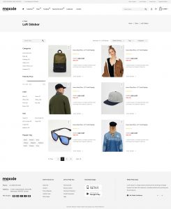 Product List Page Template