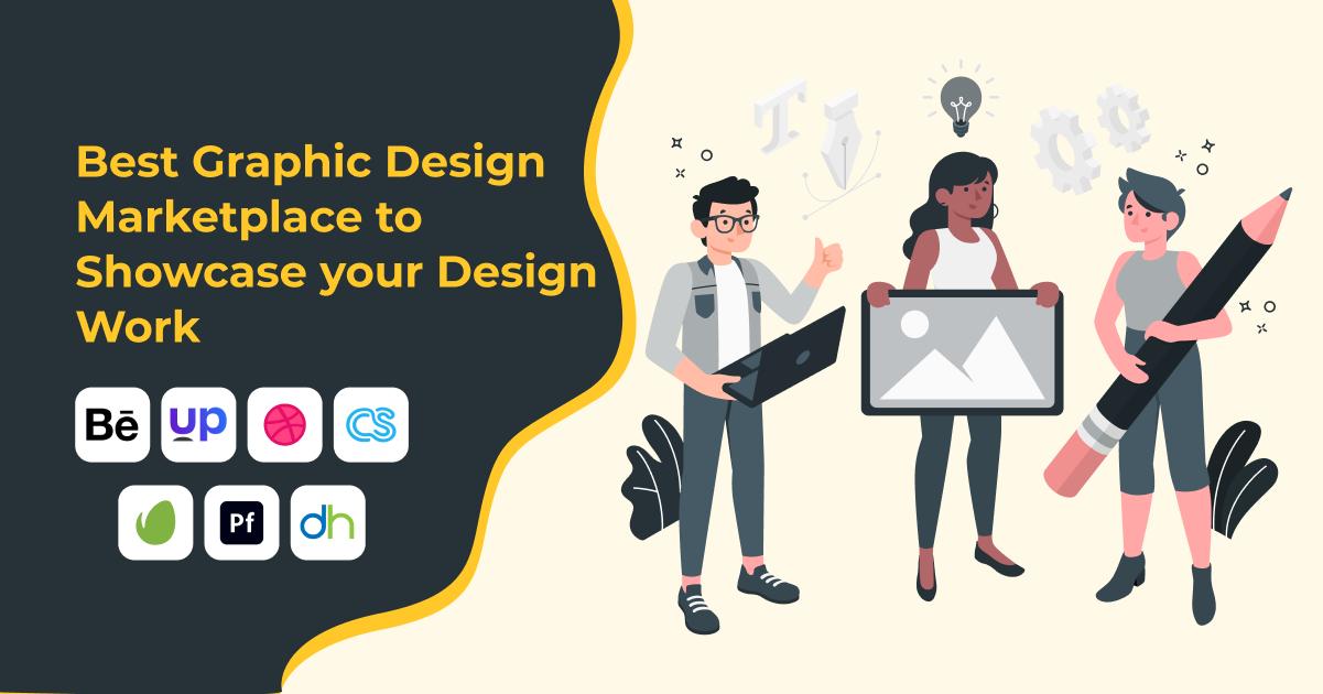best-graphic-design-marketplace-to-showcase-your-design-work